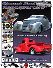 click for larger view of Street Rod HQ catalog cover
